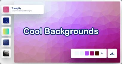 2021 線上背景產生器推薦 Cool Backgrounds