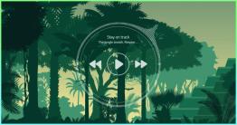 你也是藉由聽下雨聲讓自己更專注的人嗎?那麼這款 The jungle breath 叢林環境音效產生器會很適合你!The jungle breath 不只頁面精美操作也很簡單,你只要按下播放鍵便可以聽到叢林下雨聲,讓你一邊聽著雨聲一邊工作,...