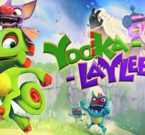 EPIC 釋出適合大小孩玩的 Yooka-Laylee 益智冒險遊戲大作,現在領取現省 $1,140 元!