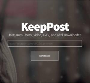 KeepPost 超好用的線上 IG 照片/影片下載器,下載 IG 圖片就是這麼簡單!