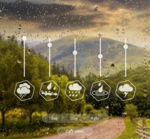 Rainbow Hunt 超美的雨聲動態產生器!藉由雨聲,讓你頭腦思緒更清晰!