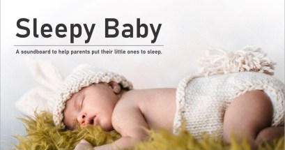 如何提升寶寶的睡眠品質?Sleepy Baby 寶寶睡前環境音效網!