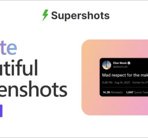 Supershots 超美的漸層背景添加器,一秒讓你的圖片超吸睛!