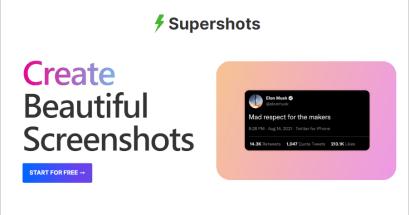 如何讓你的圖片更加有魅力?Supershots 漂亮漸層背景產生器!