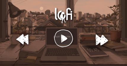 lofi.co 超美的互動式 Lofi 音樂網,能讓你在辦公或讀書時更加專注!