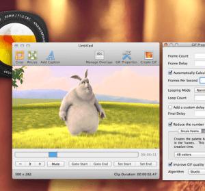 【Mac】 GIF Brewery 3 螢幕錄製 GIF 的簡單工具