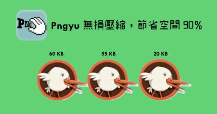 Pinyu 1.0.1 圖片無損壓縮無極限,實測節省達 90% 以上容量(Windows、Mac)