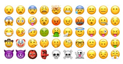 iOS 111 更新 emoji 表情符號