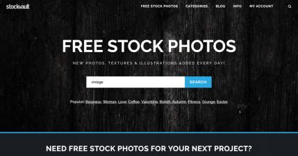 Stockvault 免費圖片界的搜尋引擎,超過 11 萬張隨你下載