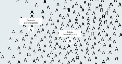 Font Map 新創 AI 字型網站,幫助設計師一眼找到目標字體