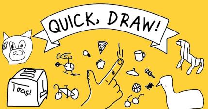 你的一小步人類的一大步,Quick, Draw! 狗年限時塗鴉,透過畫畫遊戲,協助 Google 完成 AI 學習