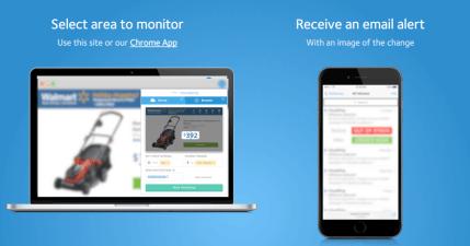 visualping 視覺化網頁追蹤監控監,一出現變化就用 Email 通知
