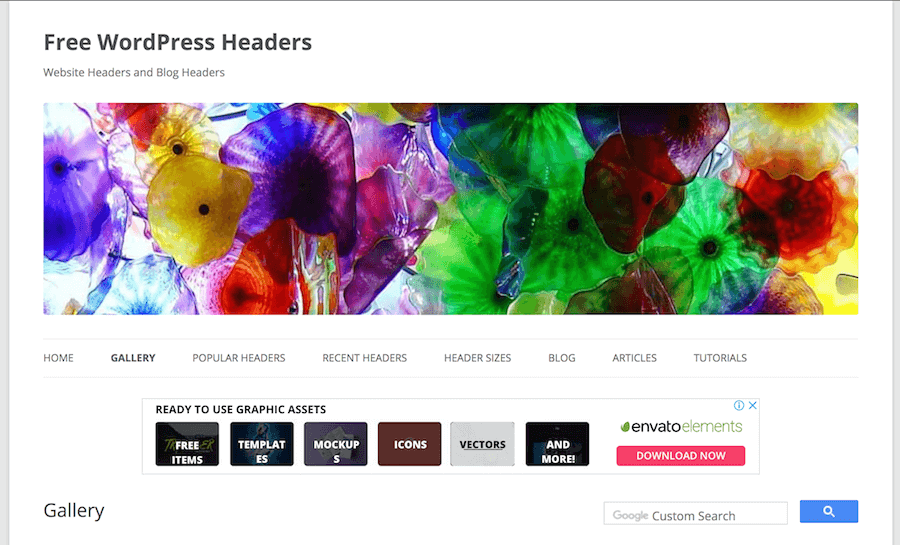 WordPress Headers 圖片下載