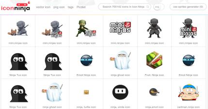 Icon Ninja 超過 70 萬個清新風扁平化圖示,免註冊、免加入會員無料下載