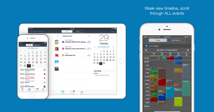 【iOS 限免】 Week Calendar Widget Pro 行事曆,免打開 App 就能查看行程,地表最快行事曆!