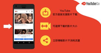 YouTube Go 全新看影片 APP 正式上架,YouTube 官方影片下載工具(APK Download)
