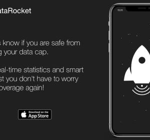 【iOS 限免】 DataRocket 網路流量監視器,剩餘流量提醒,誰說網路一定要辦吃到飽?