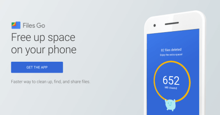 Google Files Go 智慧空間釋放,不刪掉重要檔案,手機檔案互傳不吃流量!