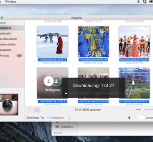 【Mac】 InstaBro 一鍵備份 Instagram 影片、照片,還能匯出 Excel 表單深入分析!