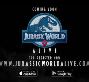 侏羅紀手遊 Jurassic-World™-Alive,AR 實境抓恐龍,即日起開放預約註冊登錄!