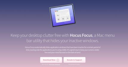 Hocus Focus 專注神器,讓我們逃離越作越忙的窘境!