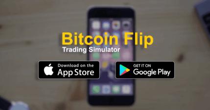 Bitcoin Flip 比特幣模擬交易器,5000 美金送你花,不會輸光真錢的交易練習工具(iOS、Android)