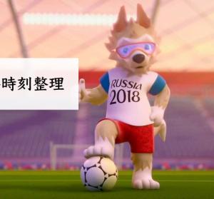 Zabivaka 2018 世界杯足球賽吉祥物,轉播時刻表資訊