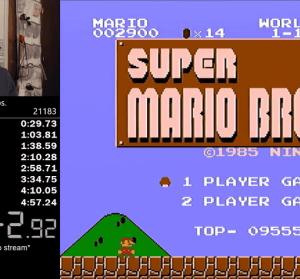 超級瑪利歐最快破關 4 分 56 秒紀錄在刷新,你最快幾秒?
