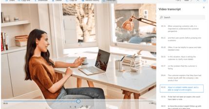OneDrive AI 逐字稿,影片與音訊檔案自動轉換,最快今年底釋出!