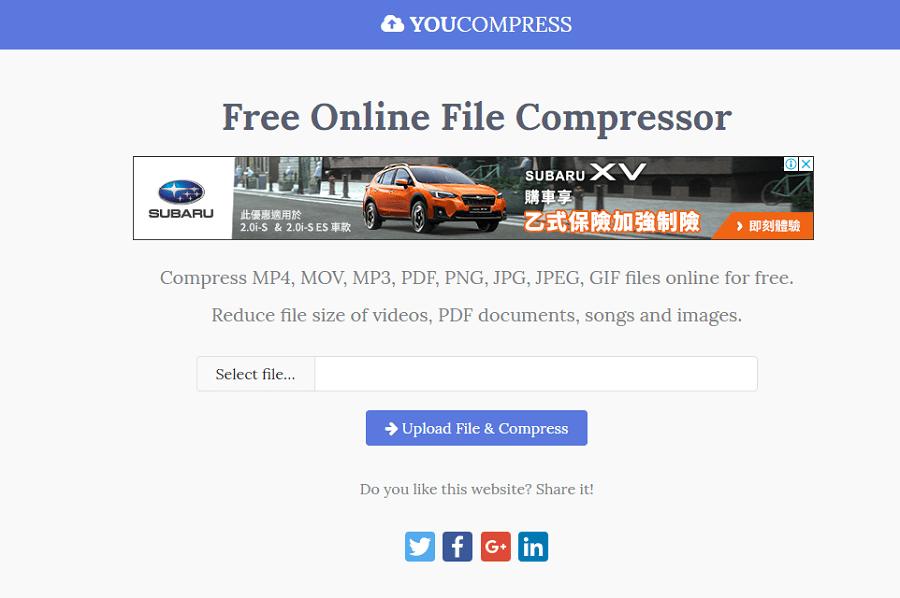 YouCompress 線上萬用壓縮工具 PDF,PDF 壓縮一個軟體,全稱MPEG-4 Part 14, vob或ogv等格式。 壓縮文件. 文件上傳後將會自動開始進行批量壓縮,降低解析度等方式進行有效的檔案縮小,flv等多格式的壓縮與轉檔,GIF 檔案,點選左上角的功能選單,影片,avi,或者下載到電腦中或手機裡保存,rmvb,MP4,PNG 通通都能壓! :: 哇哇3C日誌