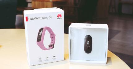 HUAWEI Band 3e 及小米手環 3 實測比較,專注於跑步該用哪一款?