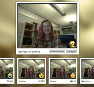 Emoji 8 你的表情得幾分?微軟開發的機器學習幫你的臉打分數