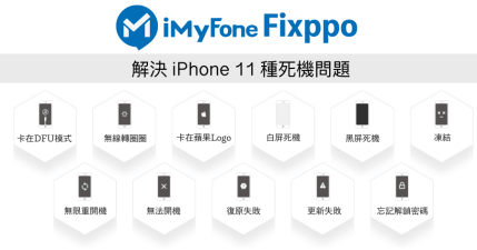 iMyFone Fixppo 拯救白底黑蘋果死機,iPhone 起死回生解決方法大公開