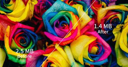 JPEGmini 無損壓縮 JPG 圖片最高壓縮 80%,攝影師私藏口袋工具!