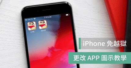 iPhone 修改 APP 圖示,免 JB 也能打造個人風格桌面
