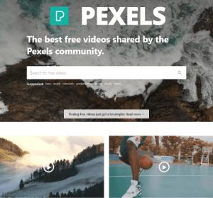Pexels Videos 可商用影片素材庫,無版權限制免註冊即可下載!