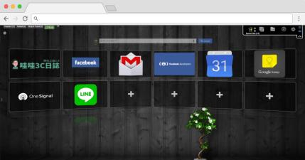 Speed Dial 書籤視覺化工具,打造 3D 介面快捷首頁