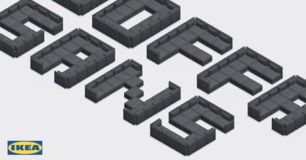 IKEA 沙發字體 SOFFA Sans 免費下載,官方表示世界上最舒服的字體在這裡!