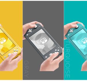 任天堂 Switch Lite 今年秋季登場,售價新台幣 6180 元