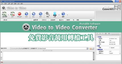 Video to Video Converter 2.9.6.0 萬用影片音樂轉檔工具,支援超過 700 種格式絕對夠你用