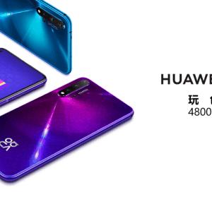 HUAWEI nova 5T 超高 4800 萬 AI 五鏡頭 10/5 上市,售價新台幣 11,990 元