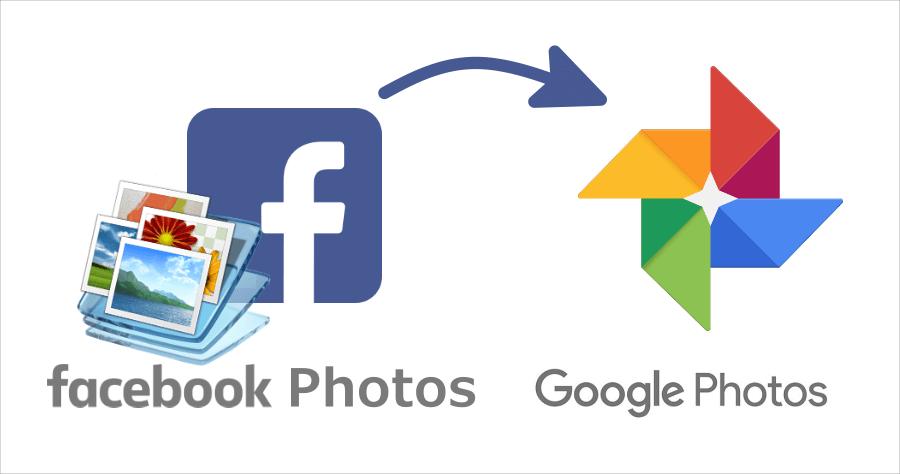 FB 照片 google 相簿
