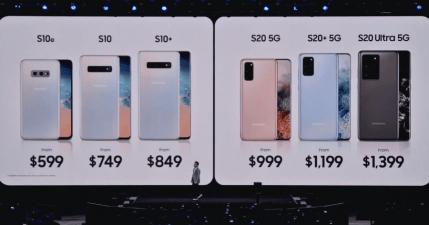 三星 Samsung Galaxy S20 系列懶人包,四大重點:8K攝影 1億800萬畫素 100倍變焦 5G