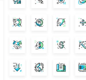 Gradientify Icons 漸層 icon下載,近 500 個 png 及 svg 圖示免費下載