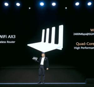 HUAWEI AX3 全球第一台 Wi-Fi 6+ 路由器、5G CPE Pro 2 發表