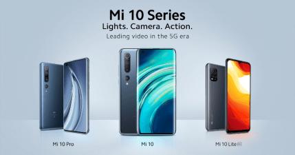 小米發表國際版小米 10 系列三款手機,推出 5G 平價手機只要 349 歐元起