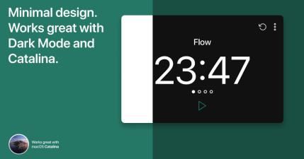 Flow 蕃茄鐘 App 目前 macOS 系統最乾淨強大的提升專注力工具