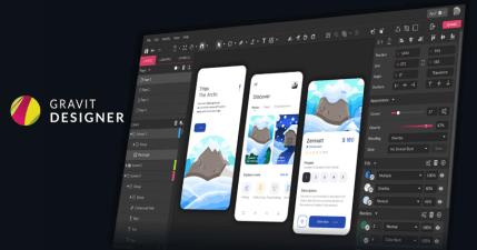 Gravit Designer 線上編輯 .ai 檔案,可以代替 Adobe Illustrator 的免費工具