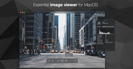 Pixea 羽量級 Mac 看圖工具,支援同資料夾圖片自動載入功能