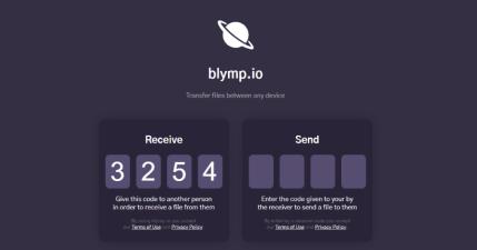 Blymp 檔案傳輸工具,輸入 4 位相符數字就能傳,不限裝置跨系統傳檔案